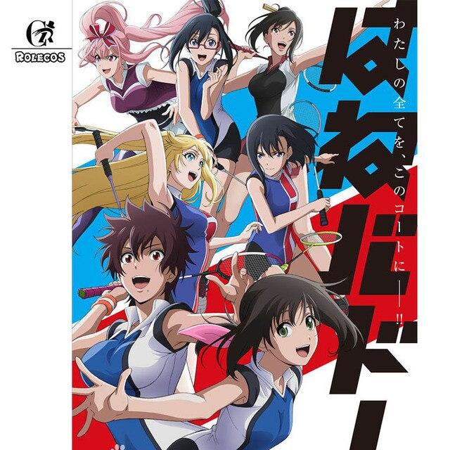 ROLECOS Pre Sale Hanebado Anime Cosplay Costume Ayano Hanesaki Sport Suit Badminton