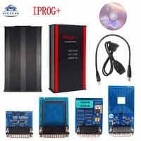 Iprog Pro Iprog + V80 Iprog Pro programador soporte IMMO + corrección de kilometraje + reinicio de Airbag reemplazo Carprog/completo/Digiprog odometers