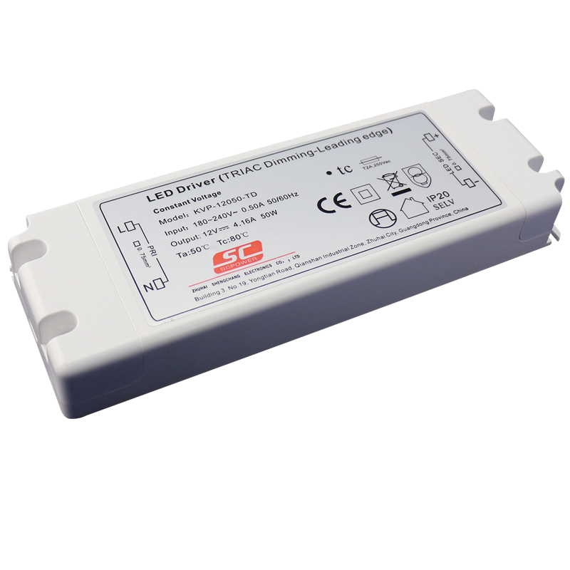 50w Led Driver Power Supply: 12V 50W Led Driver Dimmable 12v Power Supply 24V PWM