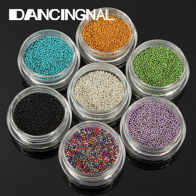 Tienda Online 12 unids/pack Nueva Nail Art Trend Caviar Micro Perlas ...