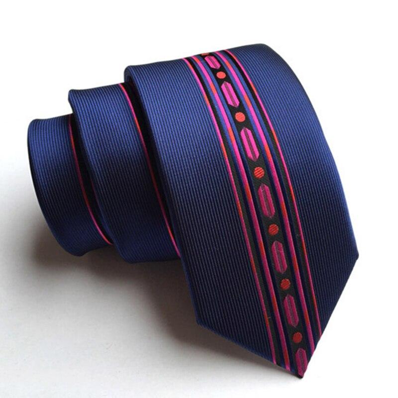 Ricnais New Arrivel Skinny Tie Man Fashion Floral Neckties Hombre 6 Cm Gravata Slim Tie Classic Business Casual Tie For Men