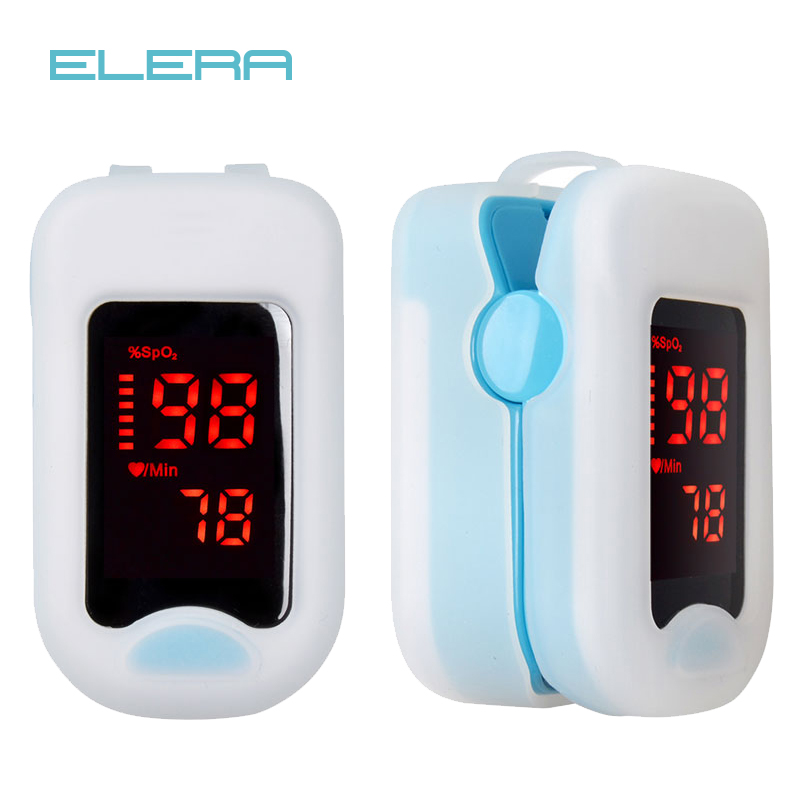 ELERA Finger Pulse Oximeter With Case Fingertip Oximetro de pulso de dedo LED Pulse Oximeters Saturator PulsioximetroELERA Finger Pulse Oximeter With Case Fingertip Oximetro de pulso de dedo LED Pulse Oximeters Saturator Pulsioximetro