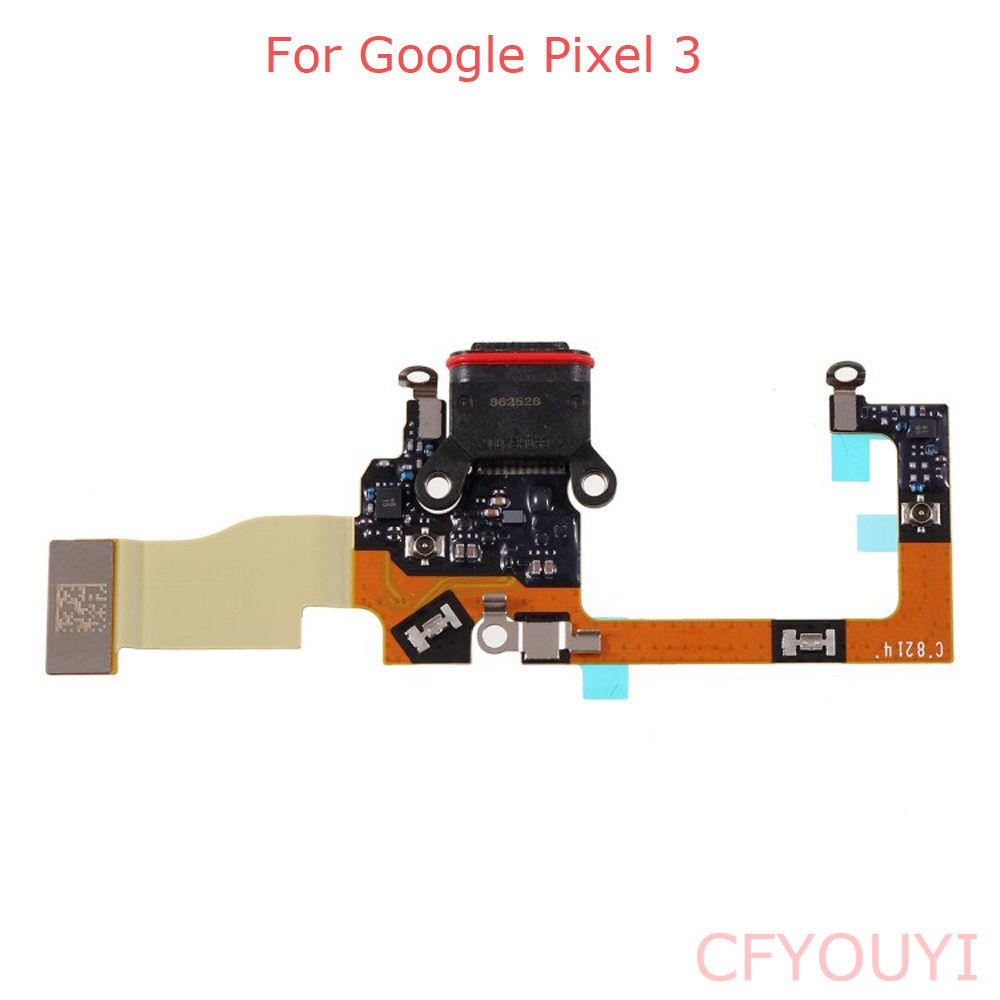 For Google Pixel 3 Pixel3 USB Charger Dock Connector Charging Port Flex Cable Repair Part