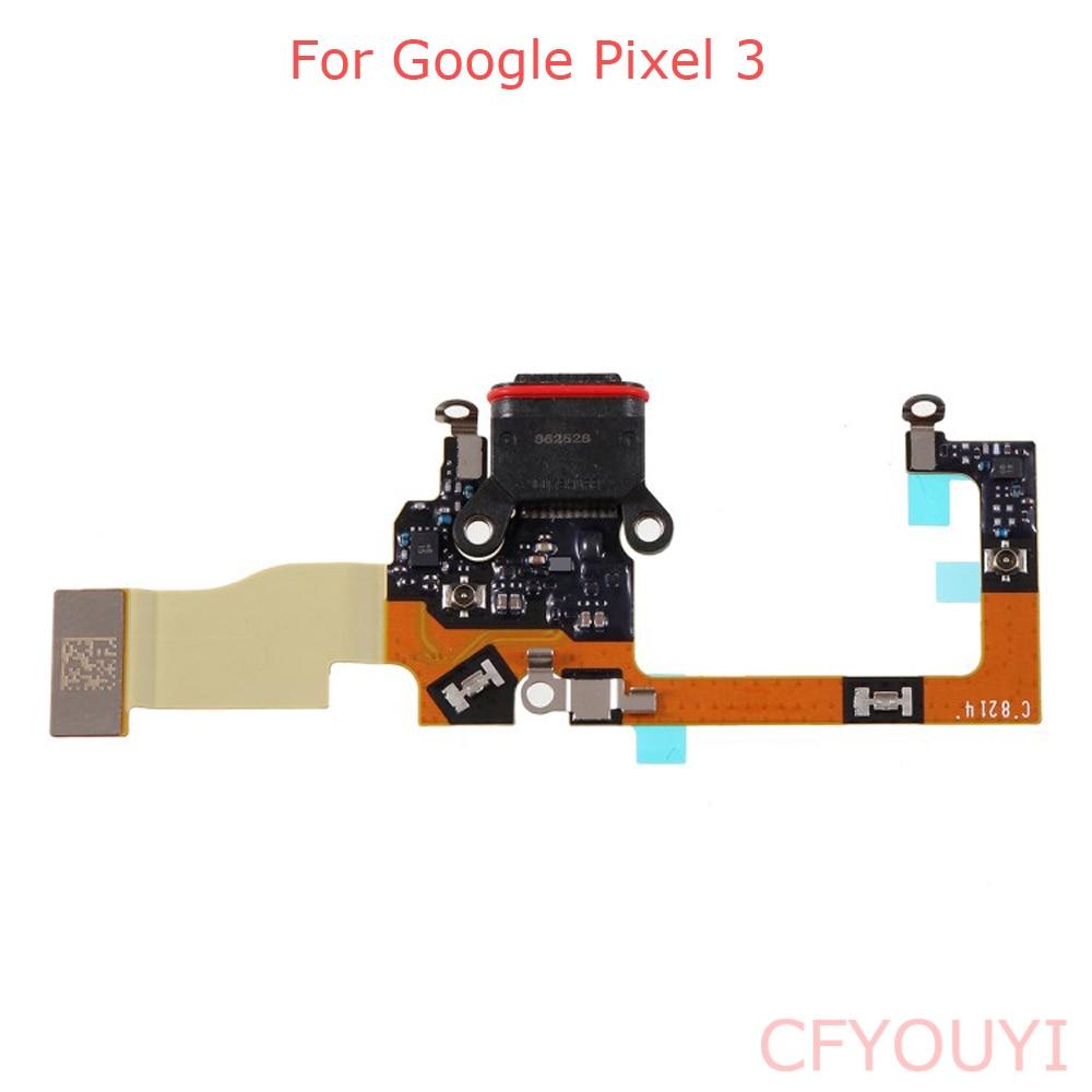 For Google Pixel 3 Pixel3 USB Charger Dock Connector Charging Port Flex Cable Repair Part