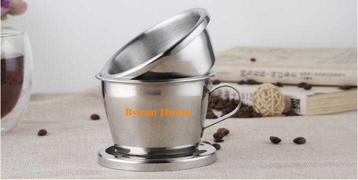 New Design Vietnam Coffee Driper Coffee Maker With Stainless Steel Filter Manual Vietnamese Drip Filter Coffee Screw Pot Design Coffee Maker Coffee Dripervietnam Coffee Maker Aliexpress
