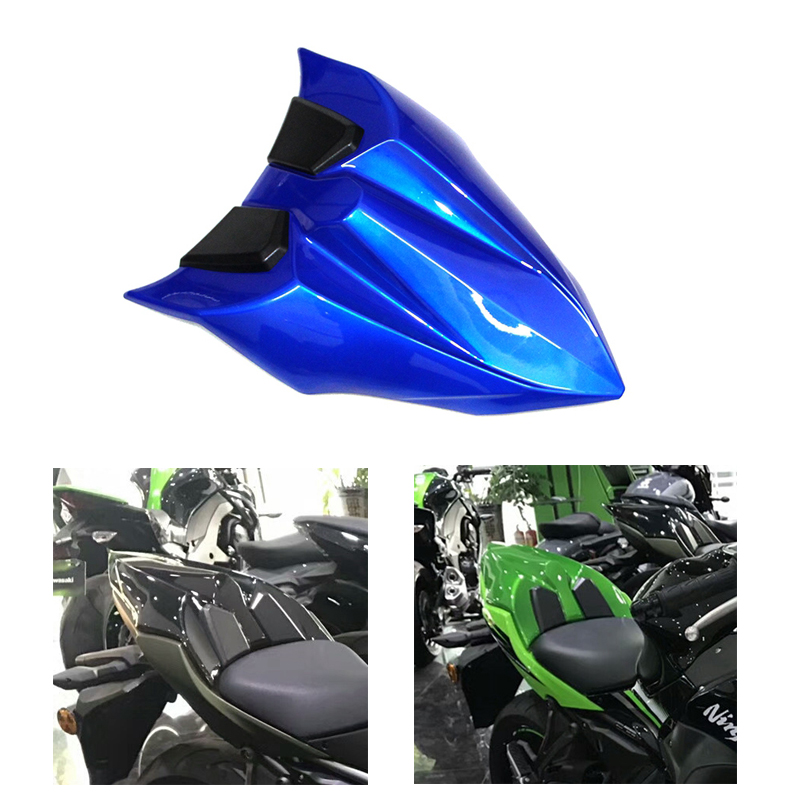 New Arrival High Quality ABS Rear Seat Cowl Fairing Blue Color For Kawasaki Ninja 650 Z650 2017 Rear Tail Cover Motorcycle Parts 2pcs high quality new arrival copier spare parts driver board for minolta di 220 photocopy machine part di220