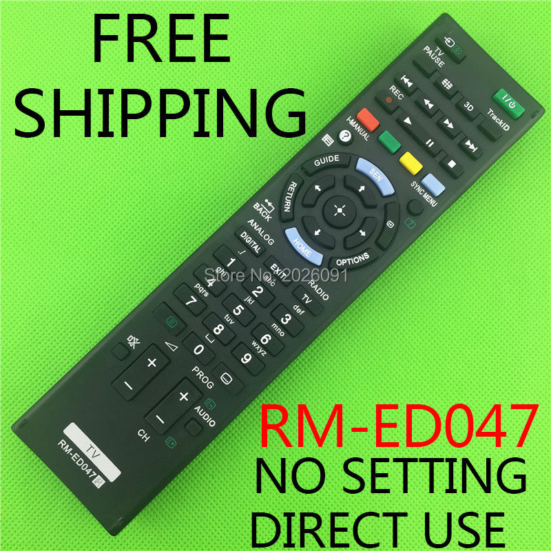 RM-ED047 remote control suitable for SONY TV RM-ED050 RM-ED052 RM-ED053 RM-ED060 RM-ED046 RM-ED044 кабель n2xs fl 2y 1x50 rm 16