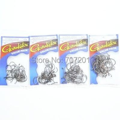 GAMAKATSU OCTOPUS CIRCLE HOOK VALUE PACK 1/0 2/0 4/0 5/0