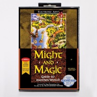 Might And Magic II Gates To Another World Game Cartridge 16 Bit MD Game Card With