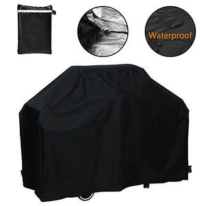 Bbq-Cover Gas-Charcoal Barbeque Anti-Dust Electric Waterproof Rain-Barbacoa Black Heavy-Duty