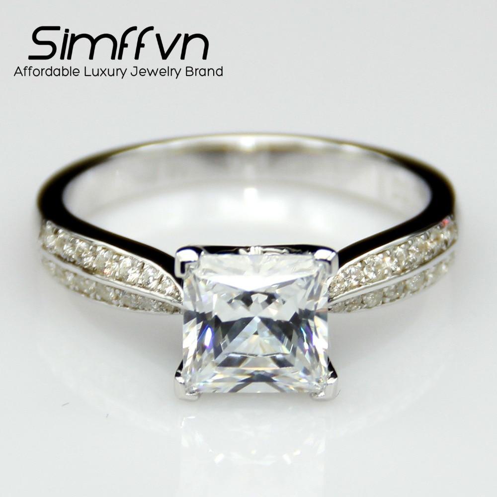 line Buy Wholesale 2 carat princess cut diamond ring from China 2 carat pri