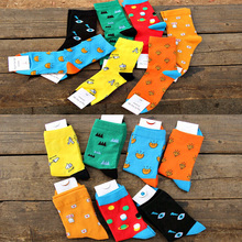 Cheap sale men socks Original brand good quality crew fashion warm winter long comfortable cotton 5 pairs