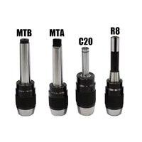 Mt2 (b) apu16 범위: 1-16mm mtb3 apu13 1-13mm mtb4 apu16 (나사 포함) 선반 밀용 통합 키리스 셀프 타이트 드릴 척