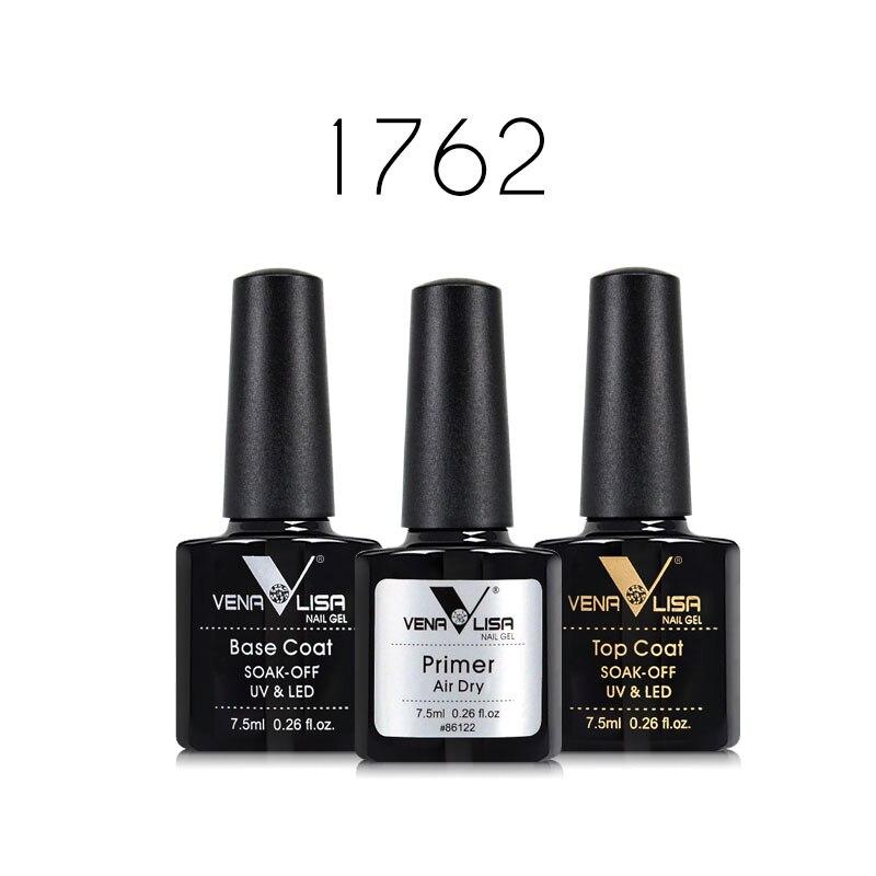 61508 Venalisa Easy Soak Off Gel Nail UV LED Lamp Gel Polish 60 Colors Semi