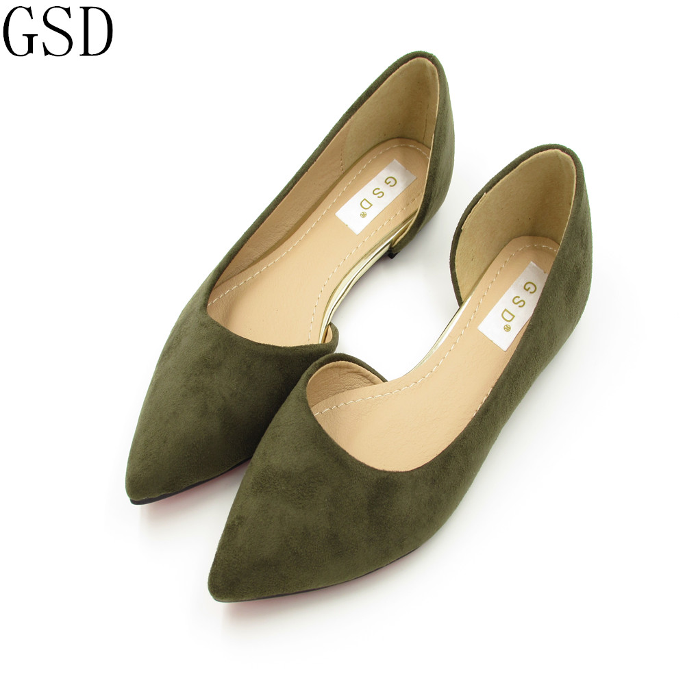 fashion Green black red gra  Women's shoes comfortable flat shoes New arrival flats  -603-5-  Flats shoes large size Women shoes sgesvier comfortable senior leather fabrics simple and easy red green and four color yellow women flat shoes size 34 41 xt21