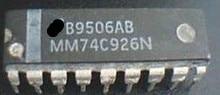 Free shipping  5pcs/lot  MM74C926N MM74C926   NEW