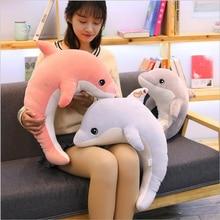 New Creative Cute Dolphin Plush Toy Stuffed Sea Animal Doll Toys Soft Pillow Children Gift Girls Birthday Gifts стоимость