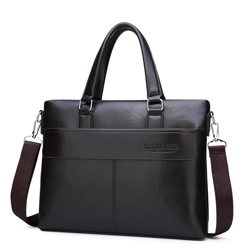 Handbag Document-Shoulder Official Messenger-Bag Computer Business Men's New Foreign
