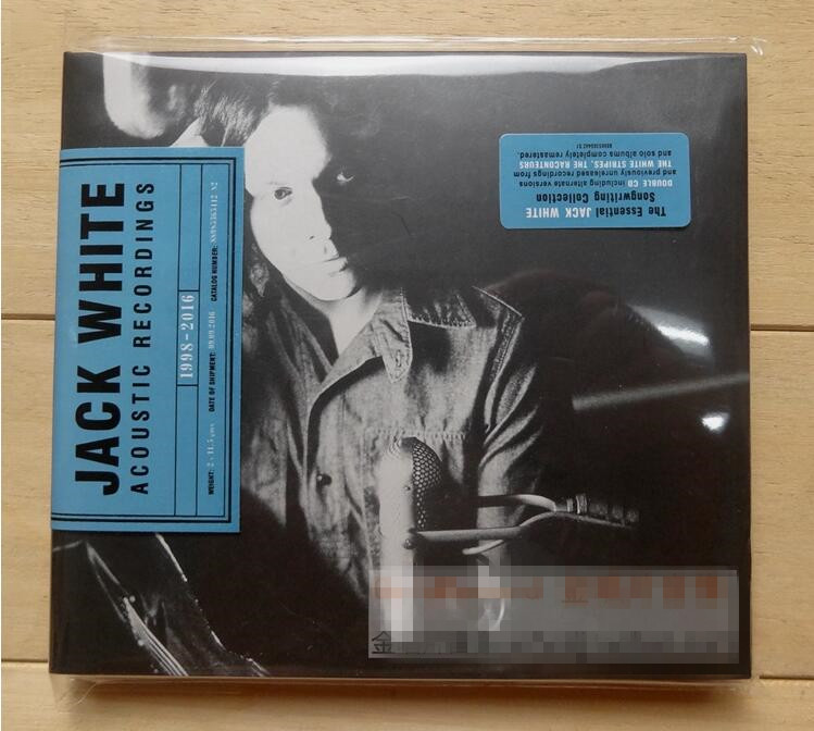 Music Cd For Vaporesso Revenger Time-limited Free Shipping: White Line Lead Singer Jack & Recordings Of 1998-2016 Cd New Seal