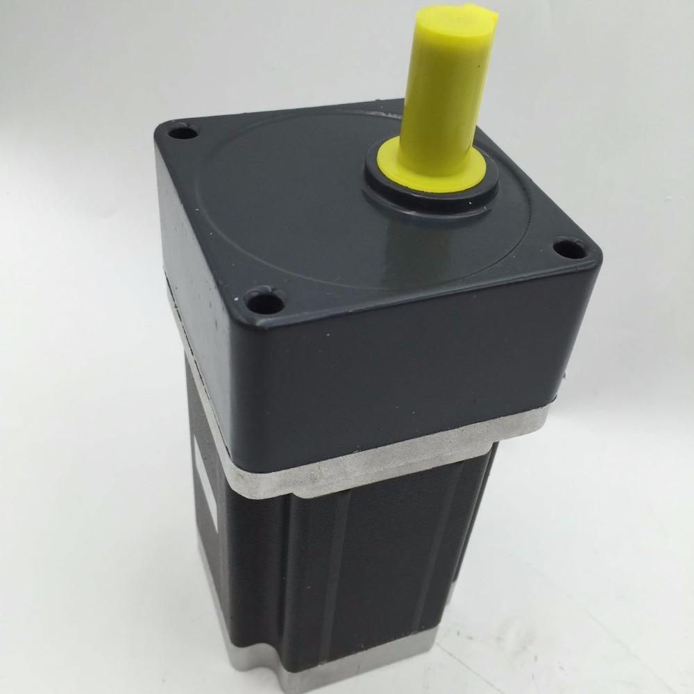 86BYG Nema34 Geared Stepper Motor Ratio 5:1 Gearbox L98mm 6A 6.5Nm 4leads for DIY CNC