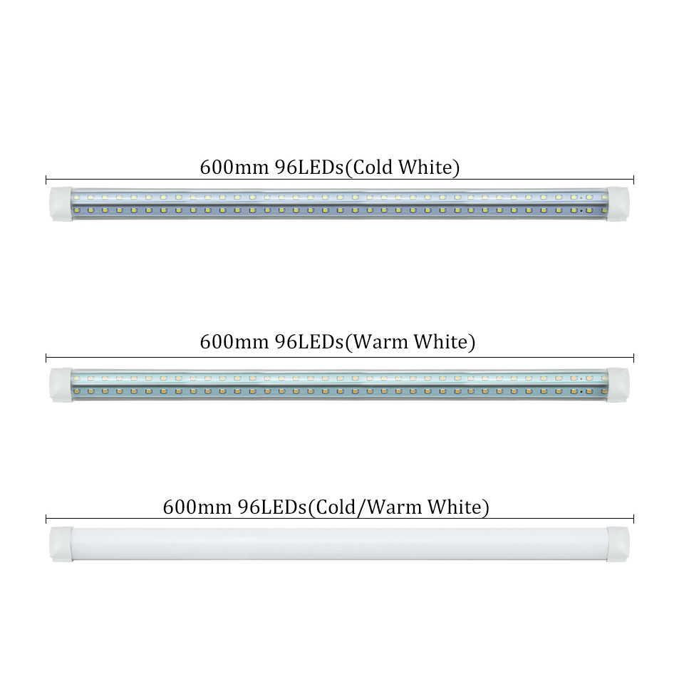 LED Lamp 20W V-Shape T8 Integrated LED Tube Lamp 220V 20W 2FT  2000lm Led Fluorescent Light Bombillas Led Tube Light