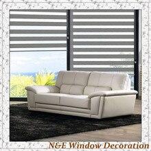 100 blackout Window blinds zebra roller blinds shades and room divider curtain for living room custom