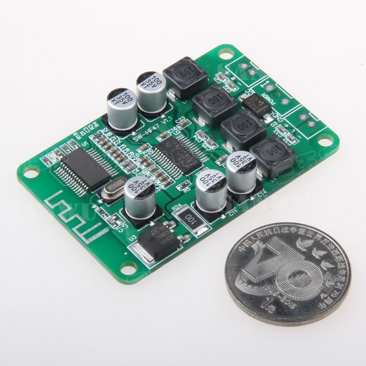 цена на 2X15W Bluetooth digital power amplifier board Bluetooth speaker Ceiling Speaker background music special power amplifier board