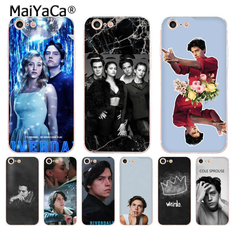 MaiYaCa tv Riverdale Series Cole Sprouse soft tpu phone case cover for Apple iPhone 8 7 6 6S Plus X 5 5S SE 5C cass
