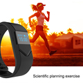 Updated Blood Pressure Blood Oxygen Smart Wristband Heart Rate Fitness Tracker Pedometer Smartband Sport Watch for iOS Android