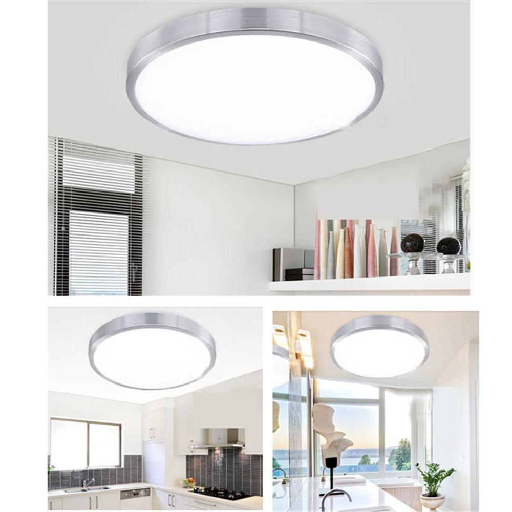 Super Bright Ceiling Lamp Household Office Lighting 12w Pir Infrared Motion Sensor Flush Mounted Led Light Ac110 265v In Lights From