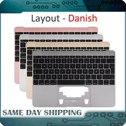 Для Macbook 12 ''A1534 датский Denish Danmark Topcase Топ чехол с клавиатурой золотой/серый/серебристый/розовое золото цвет 2015-2017