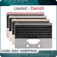 עבור Macbook 12 A1534 דני Denish דנמרק Topcase למעלה קייס עם מקלדת זהב/אפור אפור/כסף/עלה זהב צבע 2015 2017