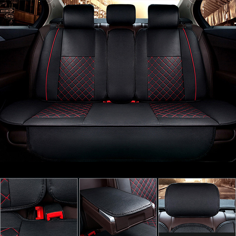 Pu Leather Car Seat Covers Universail Cushion Cover For Car Seat For BMW e30 e34 e36 e39 e46 e60 e90 f10 f30 Auto Accessories