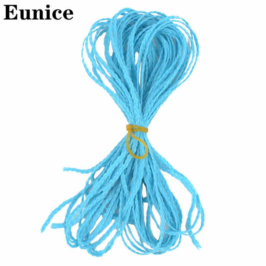 בוהמי סגנון ארוך סרוגה צמת שיער 25 צבעים סינטטי שיער הרחבות זיזי תיבת טוויסט צמות שיער יוניס שיער