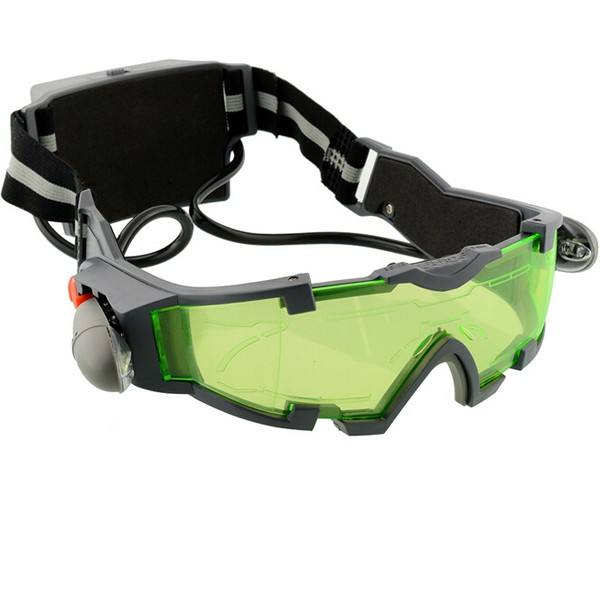 Night Vision Goggles Lens Adjustable Elastic Night Glasses Eyeshield Worldwide Green Safety Protective Goggle