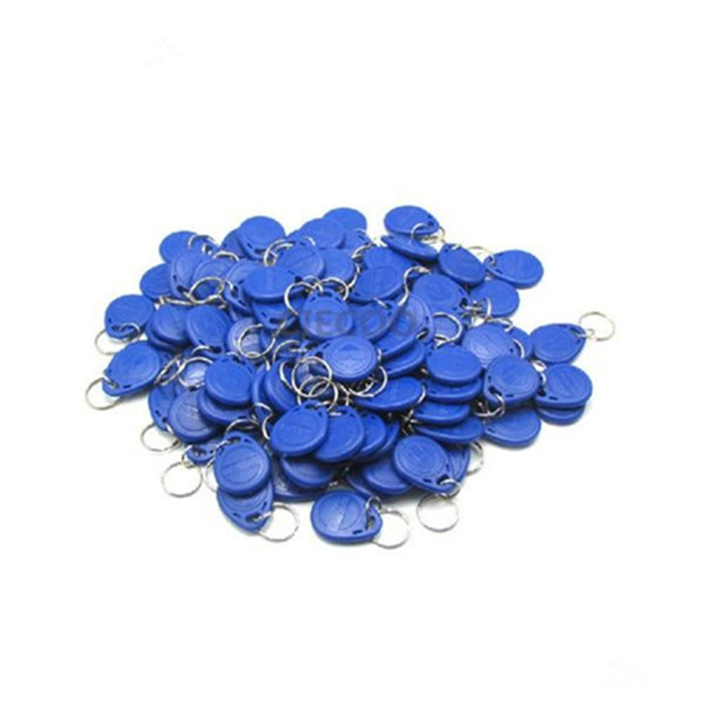 200Pcs/lot EM ID keyfobs RFID Tag Key Card 125KHZ Proximity Access Key Tags keytags for all access control system card keyfobs proximity rfid 125khz em id card access control keypad standalone access controler 2pcs mother card 10pcs id tags min 5pcs