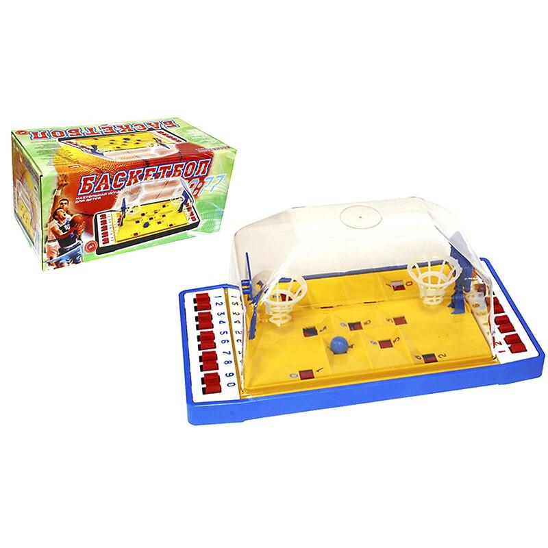 Backetball tafel board mini game desktop Interactieve voor twee Hoop Speelgoed Grappig Vinger Sport Schieten Party - 5