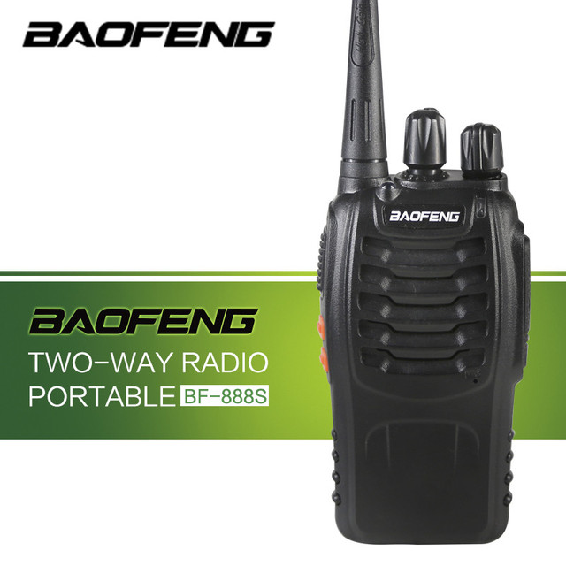 US $23 21 45% OFF|Baofeng Portable BF 888S Digital Walkie Talkie Military  Handheld Type 5W Single Band UHF 400 470 MHz Transceiver Two Way Radio-in
