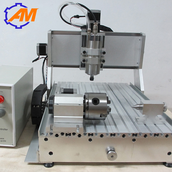 4 axis cnc router engraver machine1.5KW 2.2 KW mini cnc engraving machine 110v 220v 4 axis mini cnc am3040 engraver carving engraving router machine