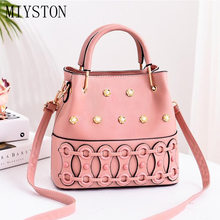 Sweet Ladies Handbags Designer Women's Candy Shoulder Bags PU Leather Female Totes Top-handle Bags Crossbody Sac a Main luxury genuine leather handbags women bags designer top handle bags shoulder bag charm ladies handbag female totes sac a main