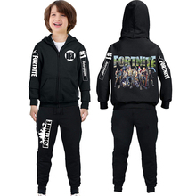 winter fortnite battle royale gta 5 Baby Boys Zipper Jacket coat+Pants 2pcs/sets Tracksuit Kids Clothing Suts Children Clothes