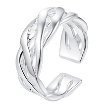 helical open beautiful Silver plated Ring Fashion Jewerly Ring Women&Men , /TUMMVSYP FGPOZBAC