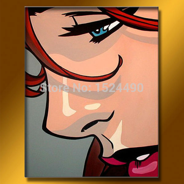 Hand painted Modern Sex Picture Women Oil Painting On Canvas Wall Art Pictures For Living Room Hotel Hone Decoration 40x50cm