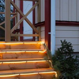 Image 5 - LED חבל תאורת RGB LED מחרוזת אור עמיד למים צבע שינוי עם מרחוק אספקת חשמל Usb שמש עץ אורות פטיו חג המולד