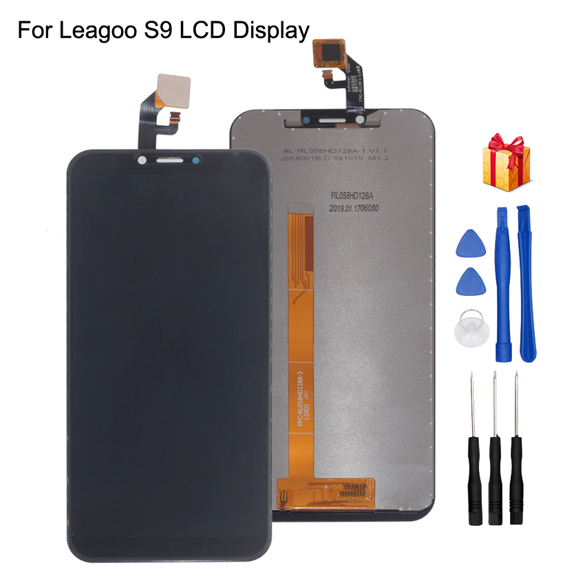 Original For Leagoo S9 LCD Display Touch Screen Assembly For Leagoo S9 LCD Screen Display Mobile Phone Parts
