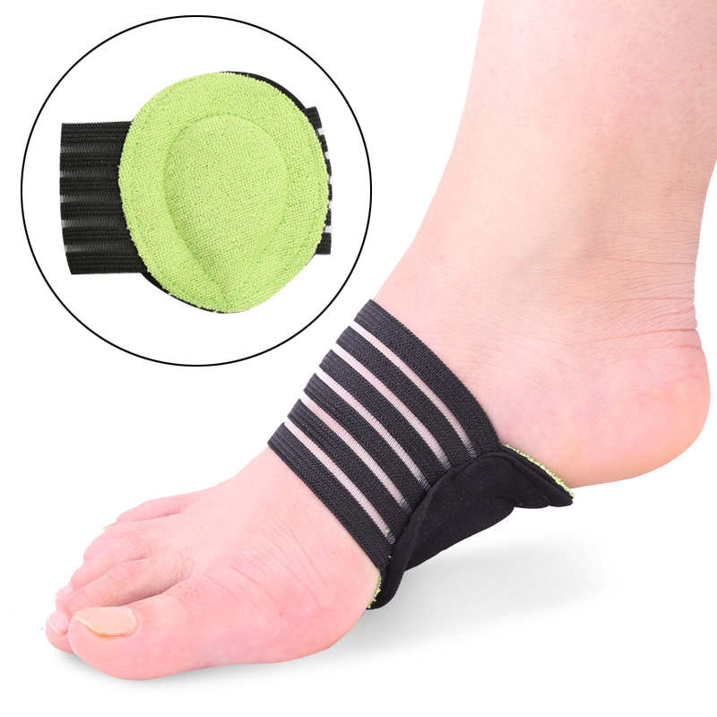 Drop Shipping 1 Pair Foot Arch Insoles, Arch Support Protection Cushion Orthotic Alleviate Pain Plantar Cushion Pads Insert NEW 4pcs silicone gel orthotic arch pad arch support insole flat foot relieve pain orthopedics insert new