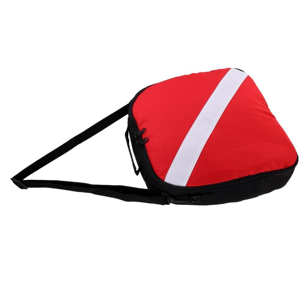 Portable Durable Nylon Dive Flag Scuba Diving Protective Bag For Regulator