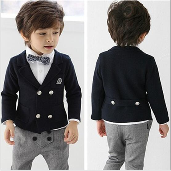 3 piece Blazers jackets for Baby boys Wedding suits Kids clothes ...