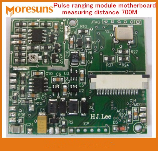 Fast Free Ship Pulse ranging module motherboard measuring distance 700M precision +- 1m Pulse ranging module PCB Board