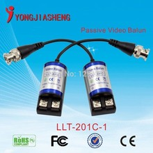 10pairs Free shipping Twisted BNC CCTV 1ch Video Balun passive Transceivers UTP Balun BNC Cat5 CCTV UTP Video Balun